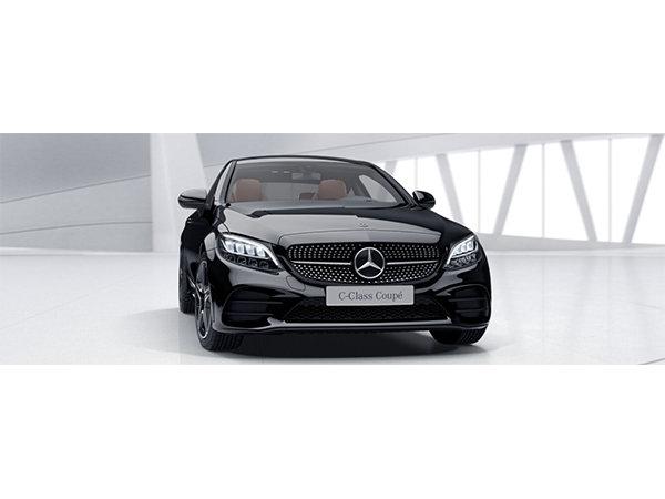 Mercedes Benz C-Klasse Coupe leasen