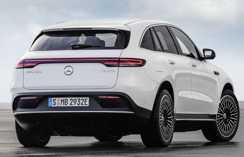 Lease All-in de Mercedes Benz EQC Klasse vanaf € 899