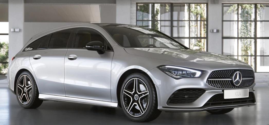 Mercedes CLA Shooting brake leasen 1