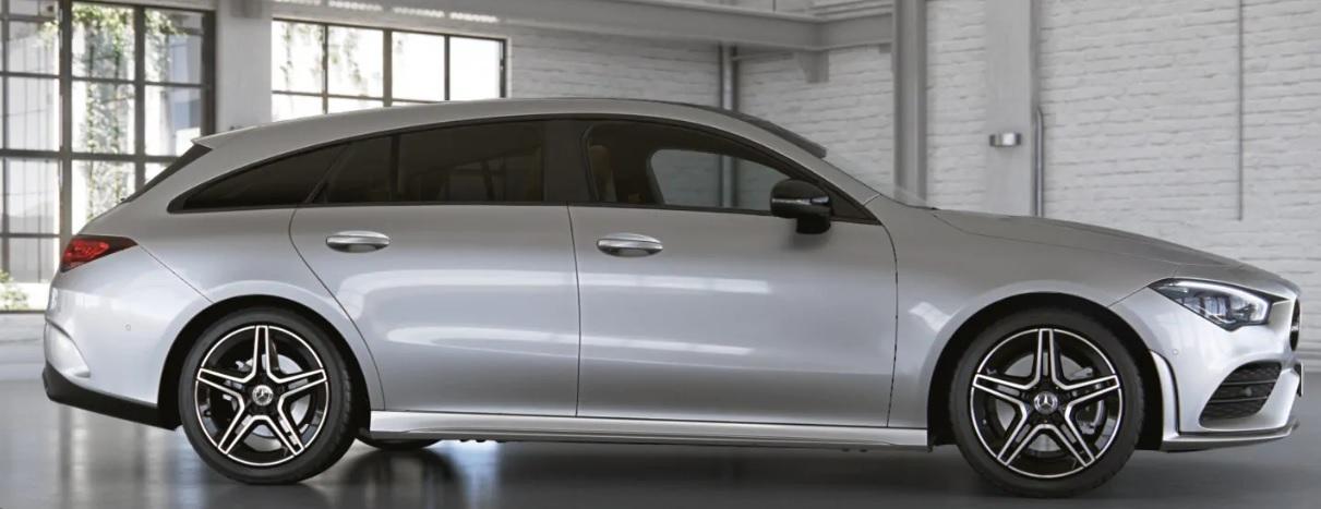 Mercedes CLA Shooting brake leasen 2