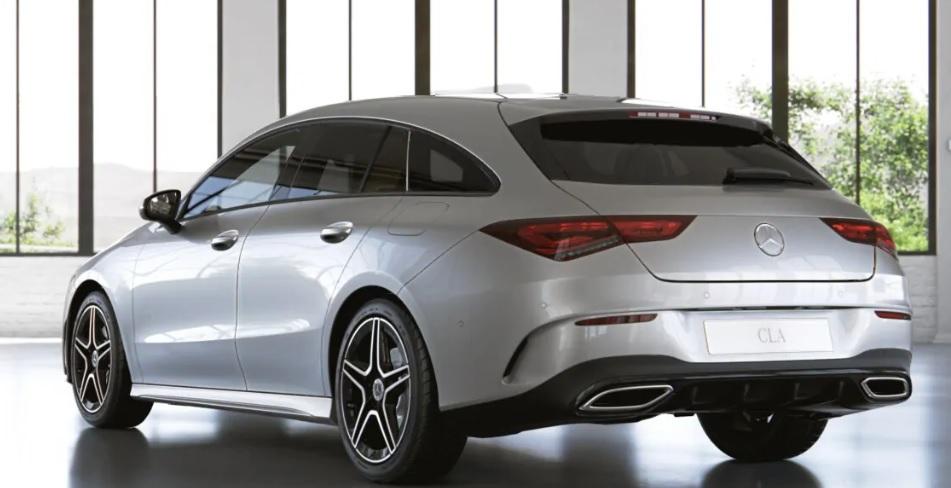 Mercedes CLA Shooting brake leasen 3