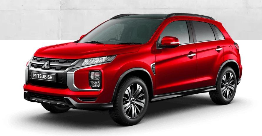 Mitsubishi ASX leasen 1