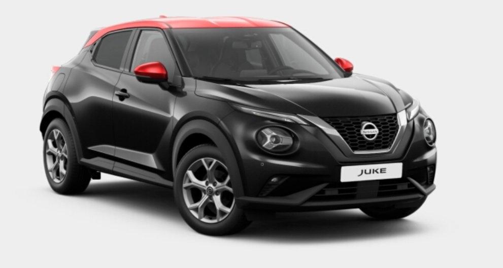 Nissan Juke leasen 1
